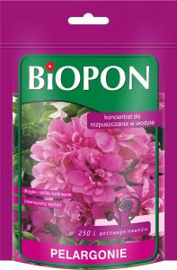 BIOPON Nawóz Koncentrat do pelargonii 250g