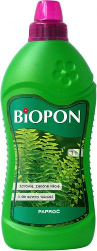 BIOPON Nawóz do paproci 1L